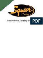 Squier Specs