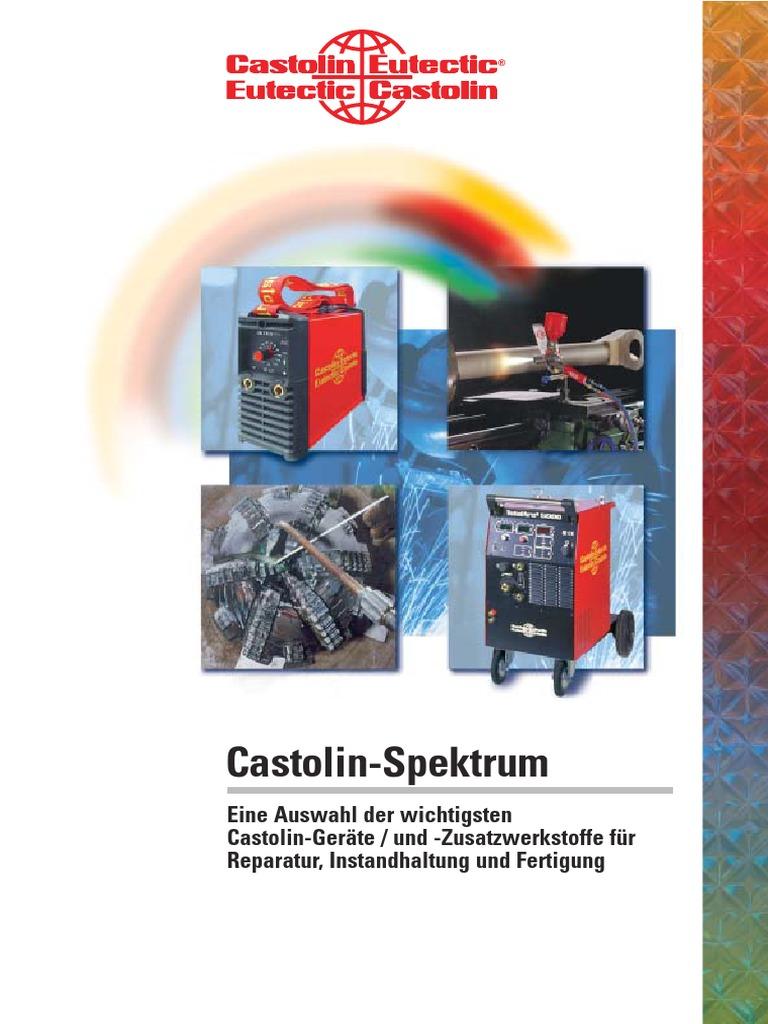 CASTOLIN GERAETE SPEKTRUM