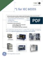 Contactors IEC60335 English