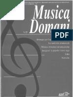 Agostini R (Cur) (2005) Confronti e Dibattiti. Dal Garage Al Conservatorio. Insegnare La Popular Music Oggi