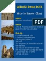 Visita a Cáceres