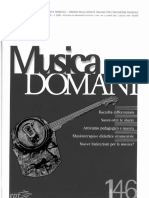 Roberto Agostini (2008) Dare Senso All'Esperienza Musicale (Musica Domani XXXVIII, 37-41, IsSN 0391-4380)
