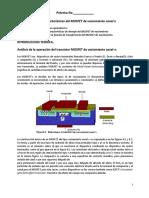 Curvas Características Del MOSFET de Vaciamiento