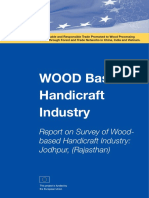 Report on Survey of Woodbased Handicraft Industry Jodhpur Rajasthan