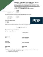 contoh Surat Permohonan Melaksanakan PKN