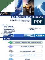 La Norme Iso Ts 16949
