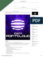 DX11 pointcloud