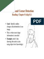 Edge and Corner Detection
