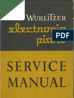 Wurlitzer 110 Service Manual