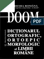 doom2 - Pentru a afla ce forme sunt corecte si/sau permise in vorbirea Limbii Romane actuale