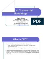 Presentation on External Commercial Borrowings