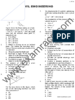 Civil Engineering Objective Questions Part 7