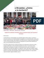 Sinpermiso-Atentados de Bruselas Como Hacer Frente a La Barbarie-2016!03!27