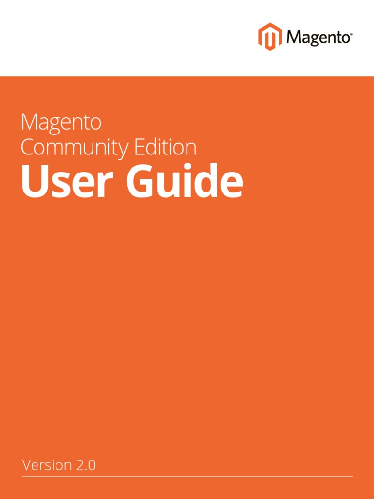 magento 2 0 user guide magento pay pal rh scribd com User Guide Template Example User Guide