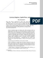 Currency Regimes, Capital Flows, and Crises