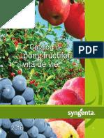 Catalog pomi fructiferi si vita de vie 2016