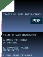 8 TRAITS OF GOOD INSTRUCTORS.ppt