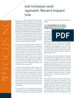 FocusNote Financial Inclusion and Development April 2014