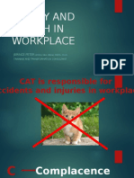 Safety and Health in Workplace - Presentation