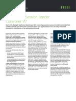 OpenScape Session Border Controller
