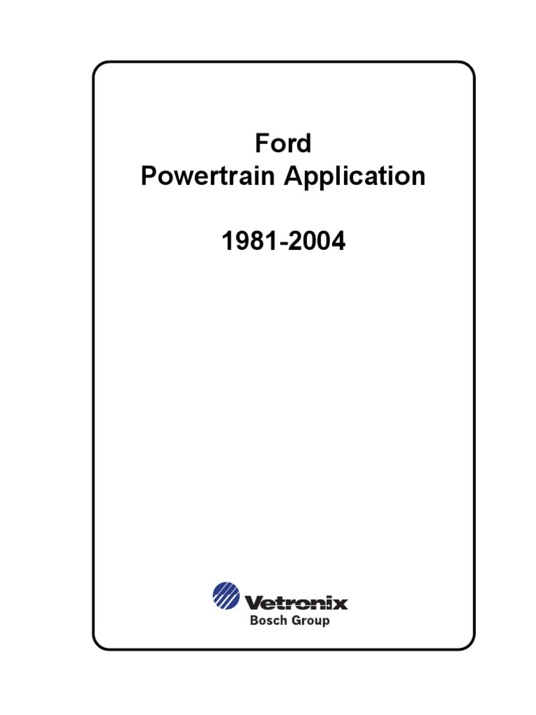 Ford Powertrain