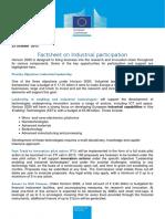 Factsheet Industrial Participation