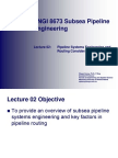 02 - Pipeline Systems Engineering and Routing Considerations