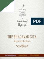The Bhagavad Gita - Signature Edition