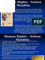 Human Rights - Nelson Mandela