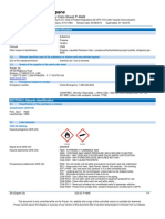 Liquefied Petroleum Gas C3H8 Safety Data Sheet SDS P4646
