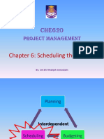 Lecture Notes Chapter 6 CHE620 Project Management