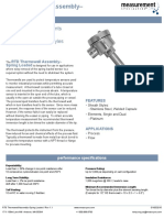RTD Thermowell Assembly