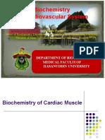 Biochemistry of Cardiovascular System