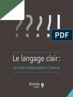 Guide du langage clair