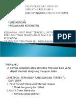 KP 20.5 Hubungan Perilaku Dgn Kesehatan Keluarga