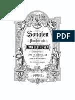 Beethoven Sonaten Piano Band1 Peters No1 Op2
