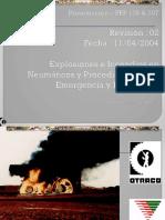 Curso Explosiones Incendios Neumaticos