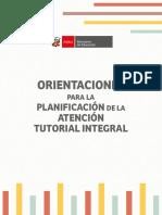 ATI-Orientaciones Para La Planificación de La Atención Tutorial Integral