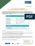 4 Avril 2016 - Ouverture de La Billetterie FDS