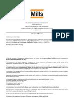 OEGM - Management Proposal