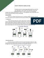 Mesin Press Mekanik
