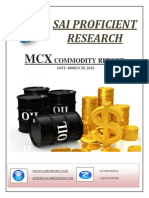 Daily MCX Report-Sai Proficient Research