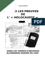 Carlos Porter - Voici Les Preuves de l'Holocauste