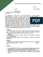 Model Ordin Servicii Contra Plata
