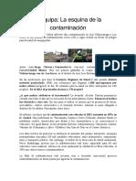 Articulo de Contaminacion
