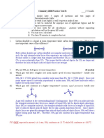 CHEM 2000 Practice Test 2 Answers - Spring 2008