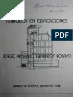 Hidraulica en Edificaciones - Jorge Granados Robayo