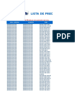 Lista Precios LIBUN