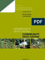 Community Seed Saving