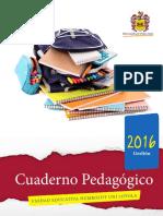 Carátula Cuaderno Pedagógico